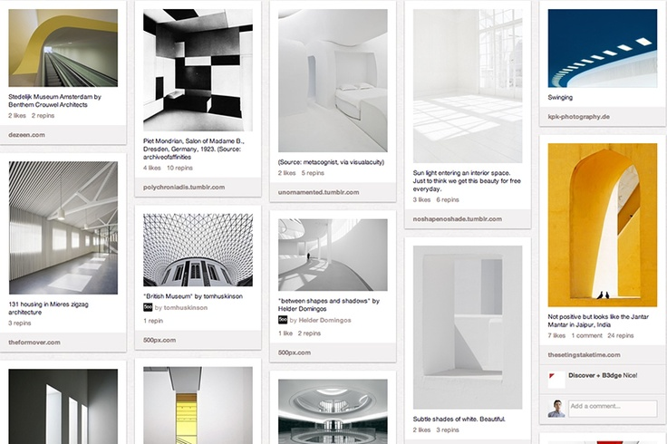 Architecture, via the Official Pinterest Blog