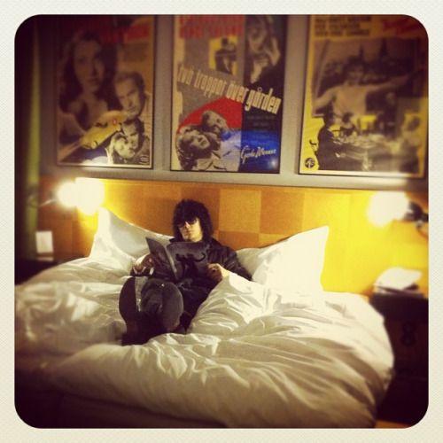 """Soft Sunday. Stockholm. Hotel Rival."" / J69"
