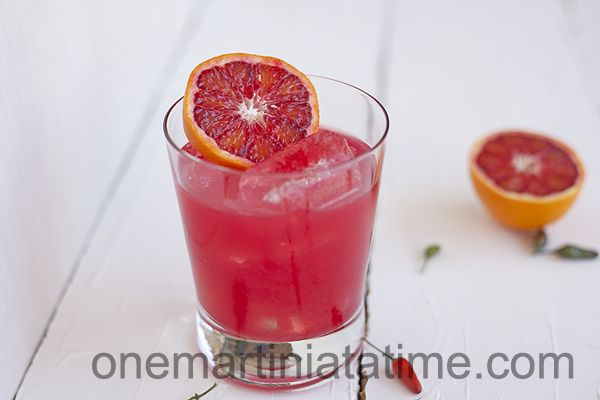 Spicy Blood Orange Margarita {with Thai Chili Infused Tequila}