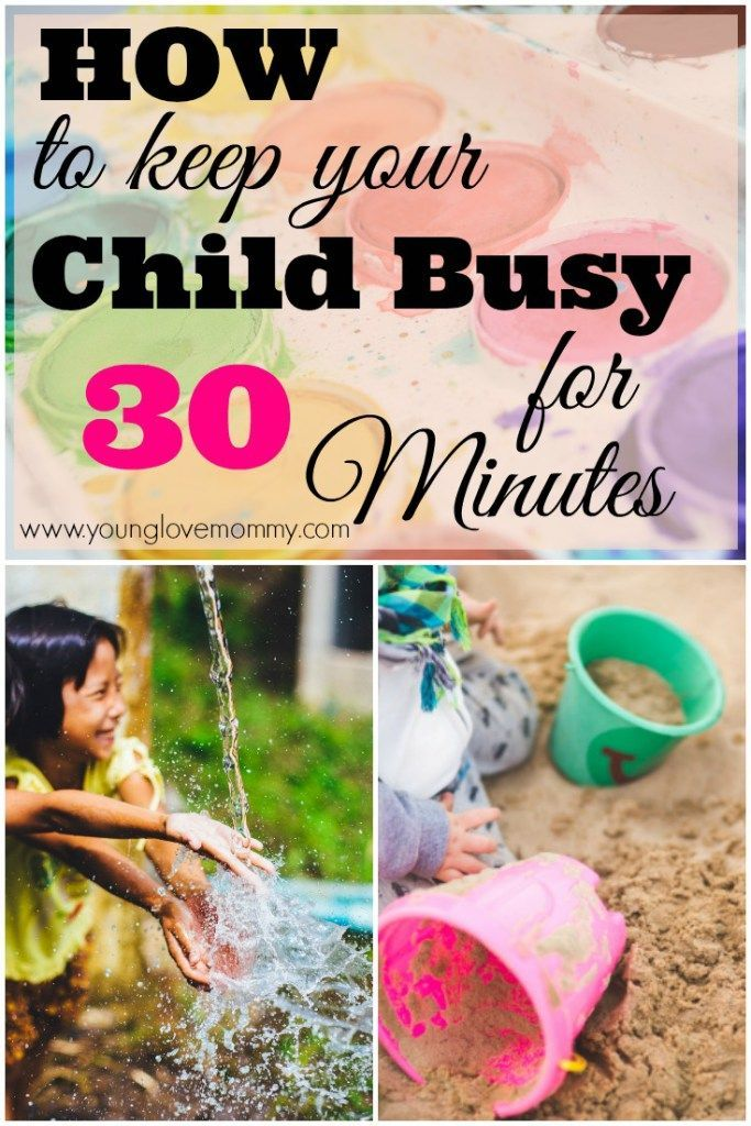 How to Entertain a Child for 30 Minutes