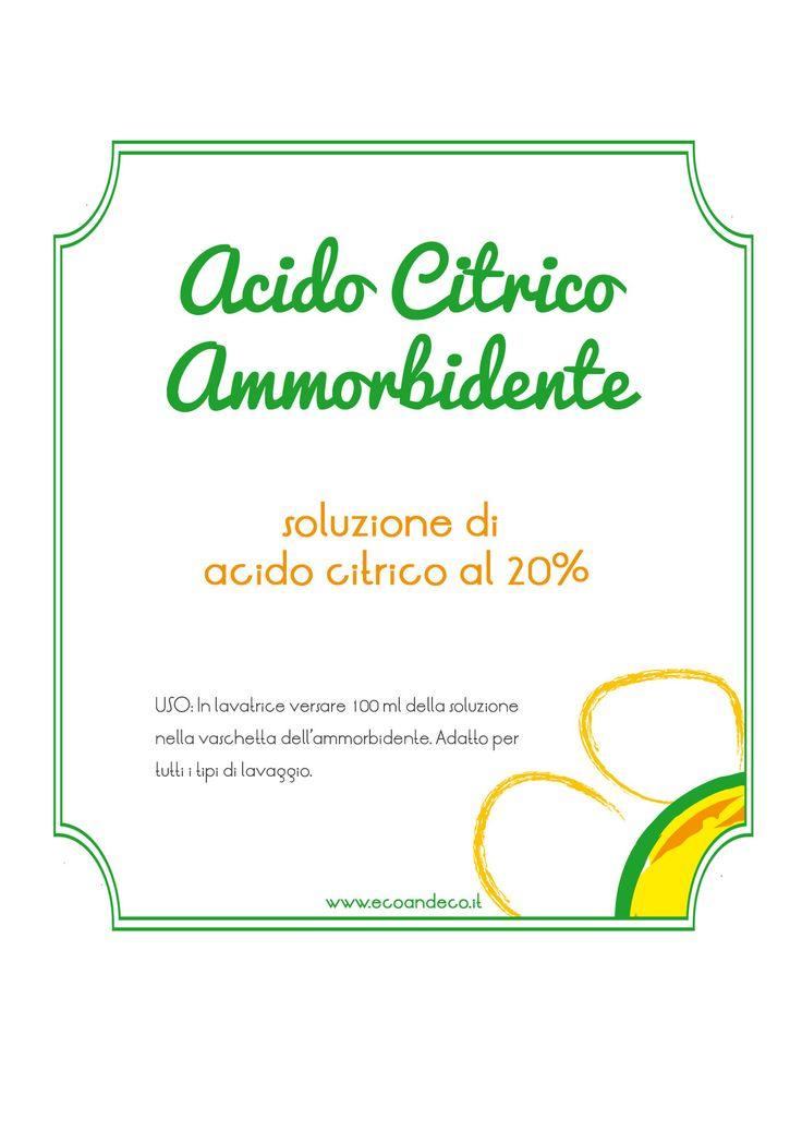 acido-citrico-ammorbidente