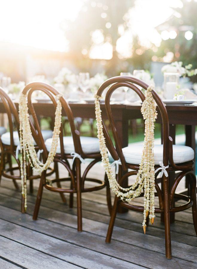 Strands of pretty blooms: http://www.stylemepretty.com/destination-weddings/2015/09/16/romantic-elegant-bali-wedding/   Photography: Blush Photography - http://blushphotography.ca/
