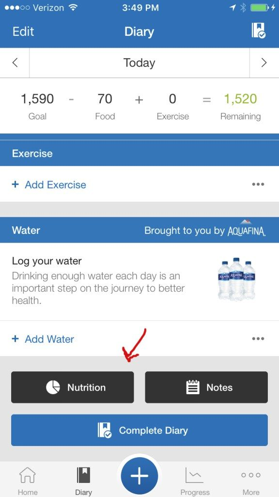 "The #1 app for Keto Dieters, ""MyFitnessPal"", helps you calculate important nutrients like macro and carb intake. Learn more here."