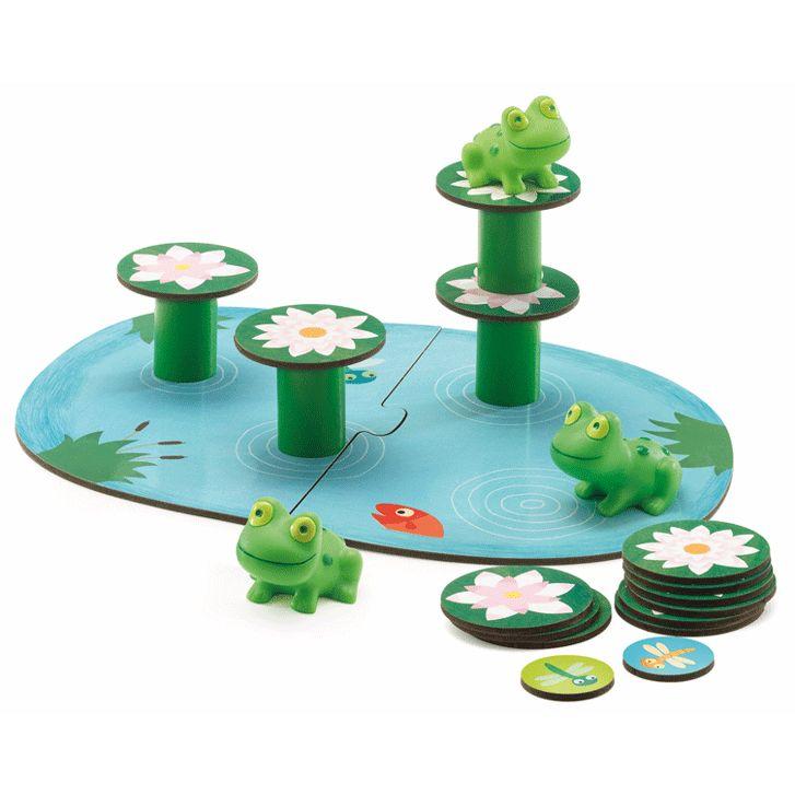 Egy kis egyensúlyozás társasjáték Little balancing Djeco 8554 ÚJdonság