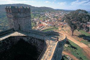 Castillo de Cortegana.