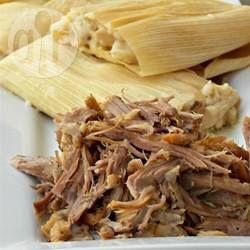 Recheio de carne de porco para tamales @ allrecipes.com.br