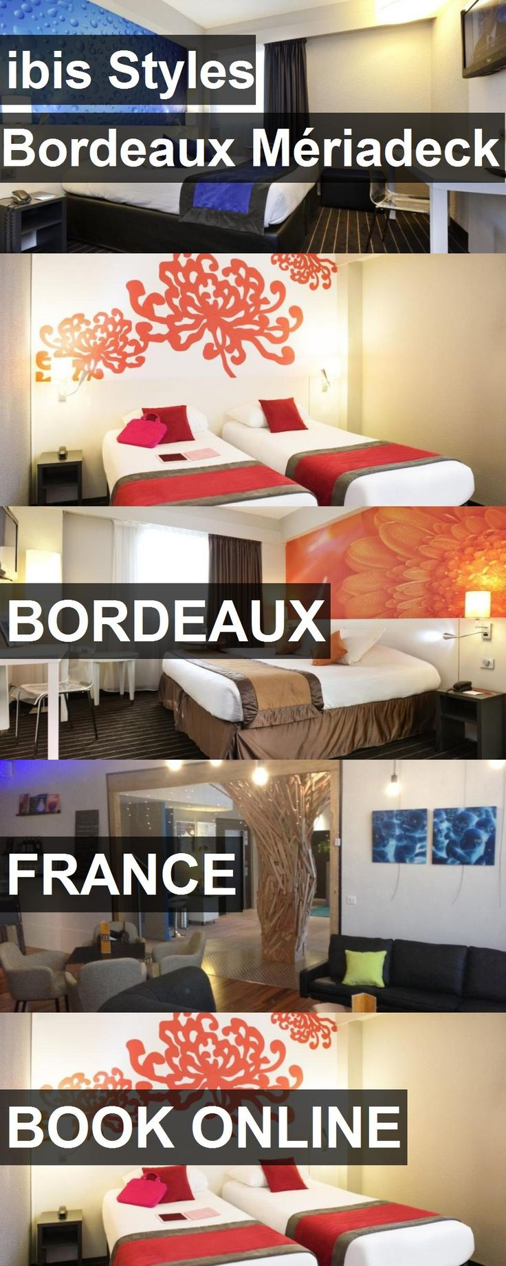 Hotel ibis Styles Bordeaux Mériadeck in Bordeaux, France. For more information, photos, reviews and best prices please follow the link. #France #Bordeaux #travel #vacation #hotel