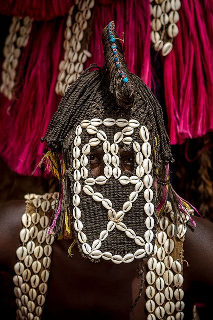 Africa    Sights and Sounds.  Traditional dogon mask, Dogon, Tireli, Mali.  Photo by Anthony Pappone