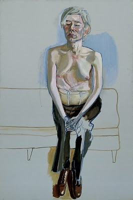 alice neel, andy warhol, 1970