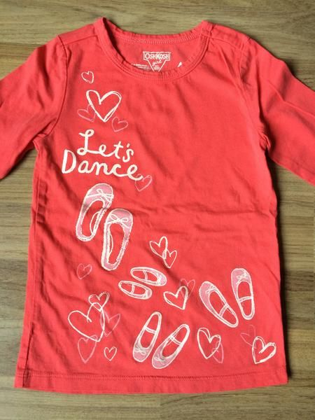 Long Sleeve Shirt (Girls Size 4)