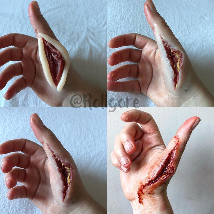 "6,043 Likes, 91 Comments - Roligore (@roligore) on Instagram: ""A good old hand slice  . . . . #horrormakeup #sfxmakeup #crazymakeups #gore #sfxmua #sfx_horror…"""