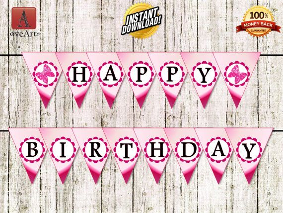 Hey, I found this really awesome Etsy listing at https://www.etsy.com/listing/245534475/happy-birthday-banner-birthday-banner