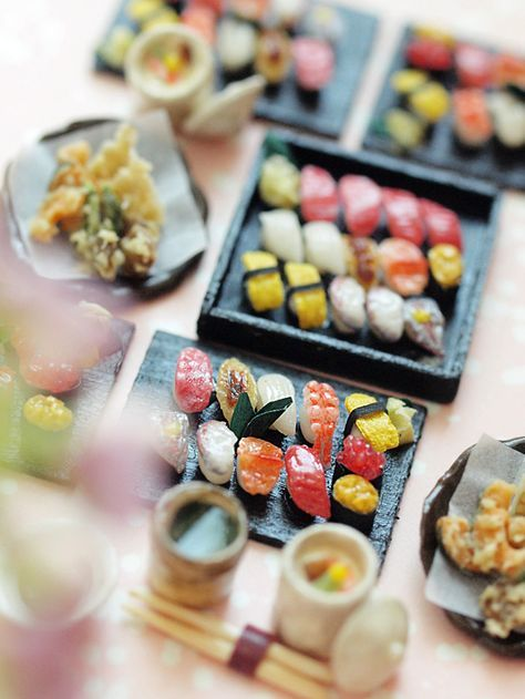 Miniature sushi