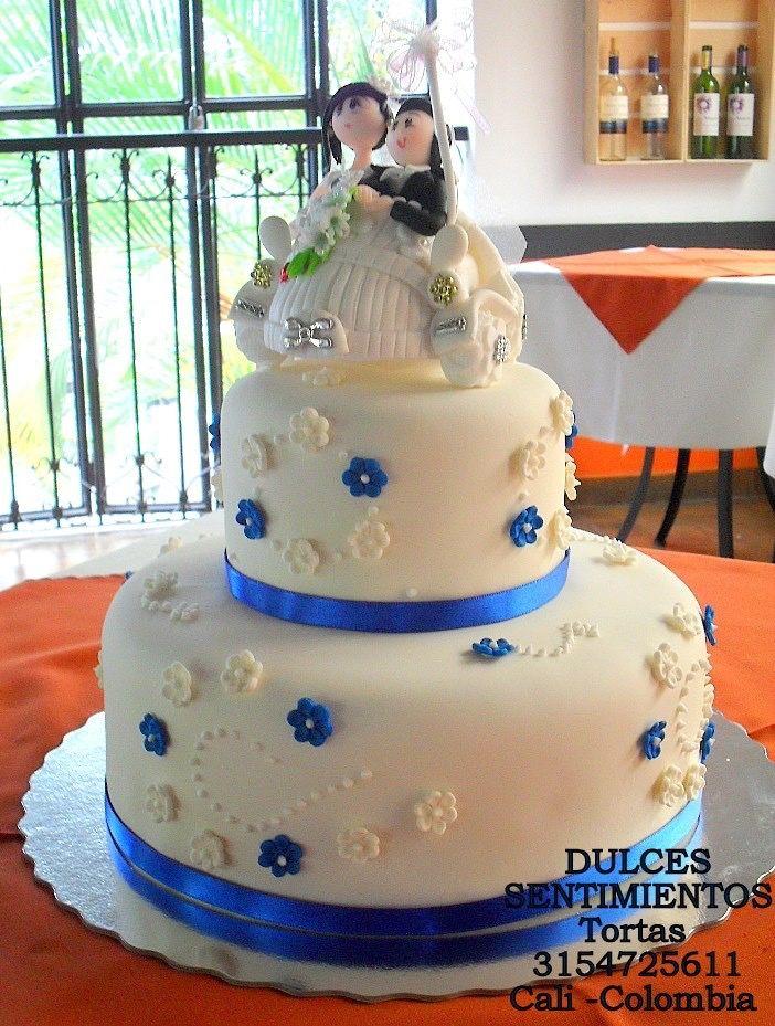 Matrimonio la torta de la Dra. Cali Colombia