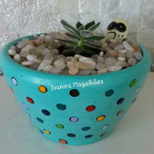 Adesivo Clareador De Dente ~ 17 melhores imagens sobre Vasos de barro pintados a m u00e3o no