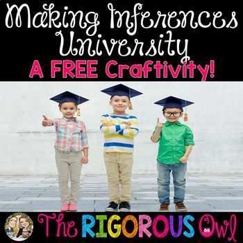 This Making Inference Craftivity Freebie will have your students reading a text, using their background knowledge and making inferences! Looking for a different way for students to practice making inferences? Here is a fun, hands-on, creative way that students will love!