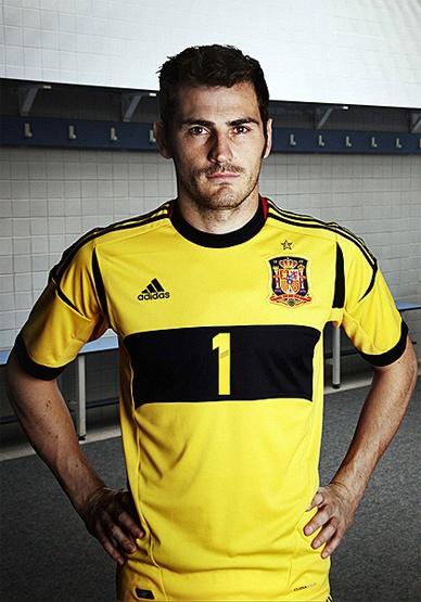 Iker Casillas! Goalie for Spain's National Fútbol (Soccer) team :) he's such a good player!