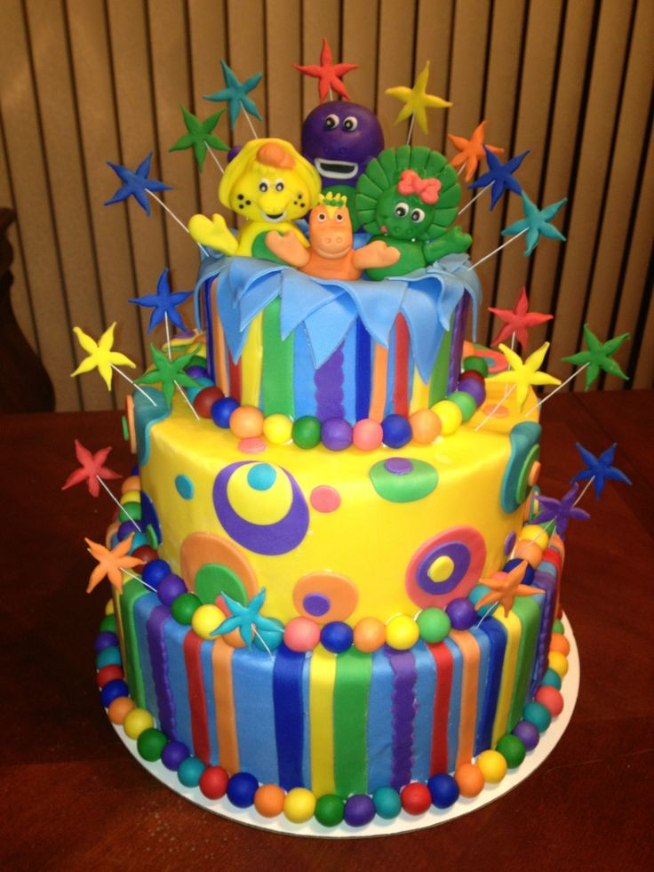 Birthday Cake Designs For Friends : Top 43 ideas about Barney on Pinterest Barney birthday ...