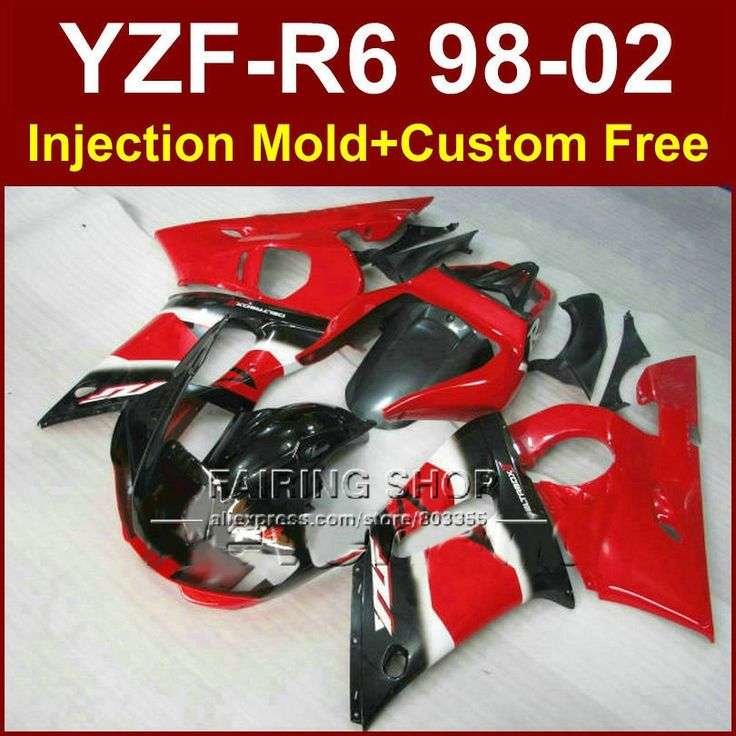 356.40$  Know more - http://ai8pj.worlditems.win/all/product.php?id=32431405771 - 65D6 Red black good fairing set for YAMAHA R6 98 99 00 01 02 YZF R6 fairing kit 1998 1999 2000 2001 2002 fairings parts OD7E