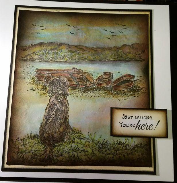 TEDDYINKS: SHEENA DOUGLASS - ITS A DOGS LIFE STAMP SET