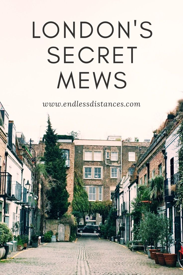 How to Find the Secret Mews of London