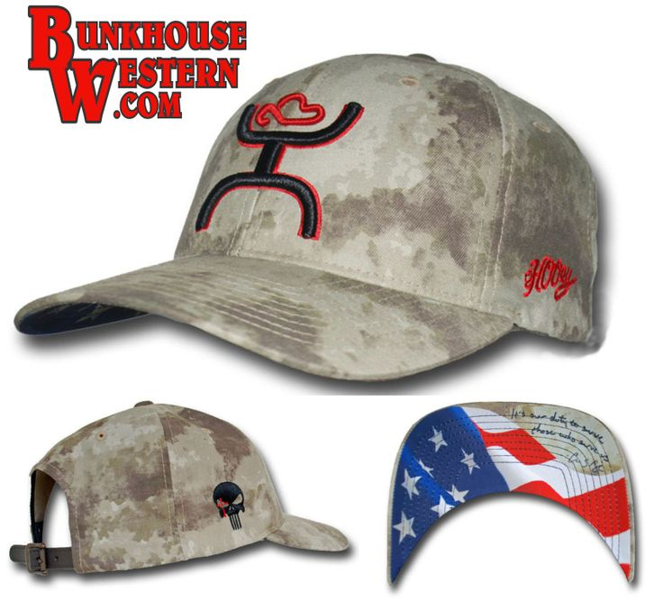 Chris Kyle Hooey Hat: Chris Kyle, Desert Camo, Army, Sniper, United States Flag