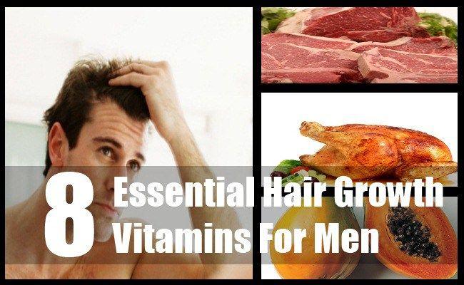 8 Essential Hair Growth Vitamins For Men