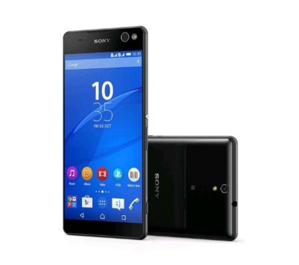 SONY Xperia C5 Ultra DualSIM black unlocked - pretty good but not waterproof (available in Ireland from late 2015)