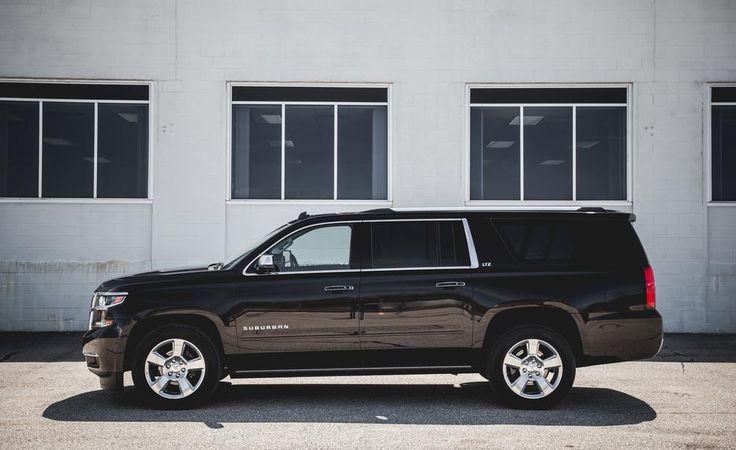 2017 Chevrolet Suburban exterior, side view, alloy wheels