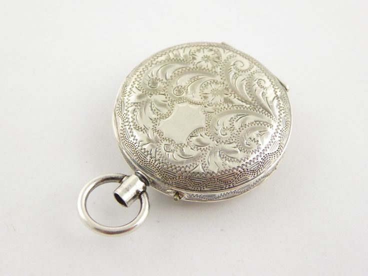 Antique 1915 Sterling Silver Pocket Watch London Silver Import Marks Parts or Restoration - The Collectors Bag