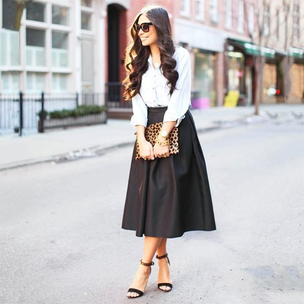 28 best Midi Skirt Trend images on Pinterest