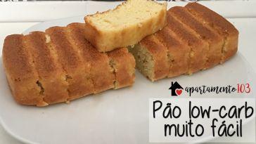 Receita: como fazer pão low-carb muito fácil