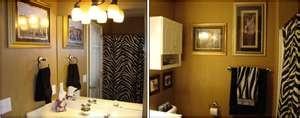 African-Safari bathroom decor