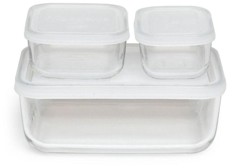 Nathaniel 6-Piece Compact Food Storage Set