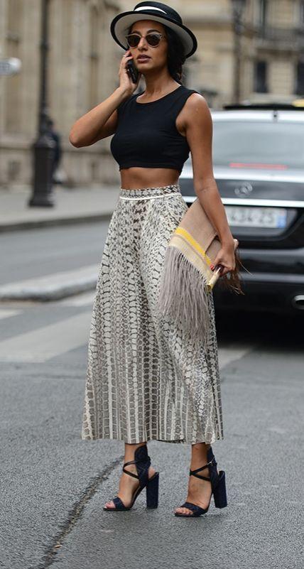 nice Street Style : Paris Haute Couture Fall 2015