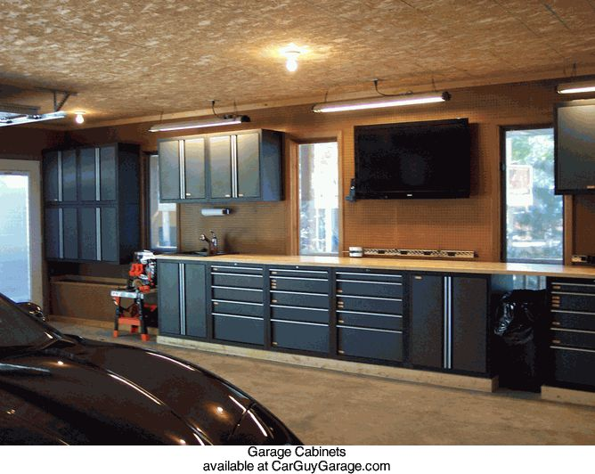 http://www.carguygarage.com  Garage Cabinets
