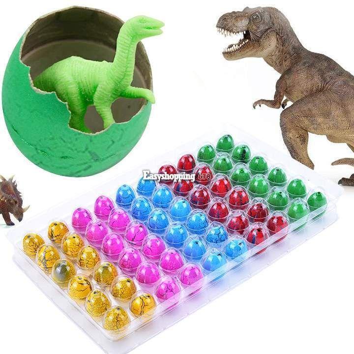 60pcs Hatching Dinosaur Egg Add Water Growing Egg Kids Magic Inflatable Toy  #UnbrandedGeneric
