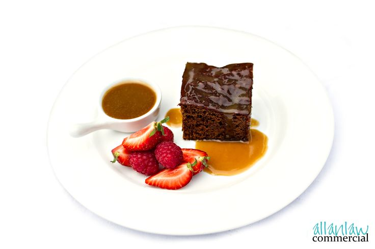 Sticky Toffee Pudding - Inverness Food Photography