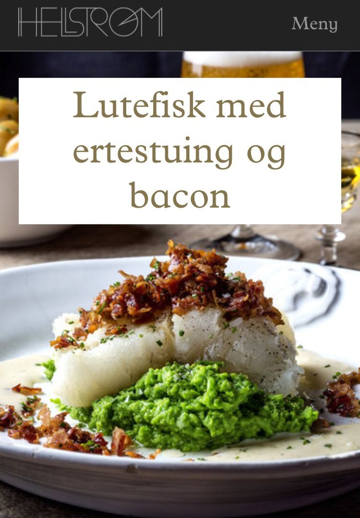 Hellstrøms lutefisk #oppskrift