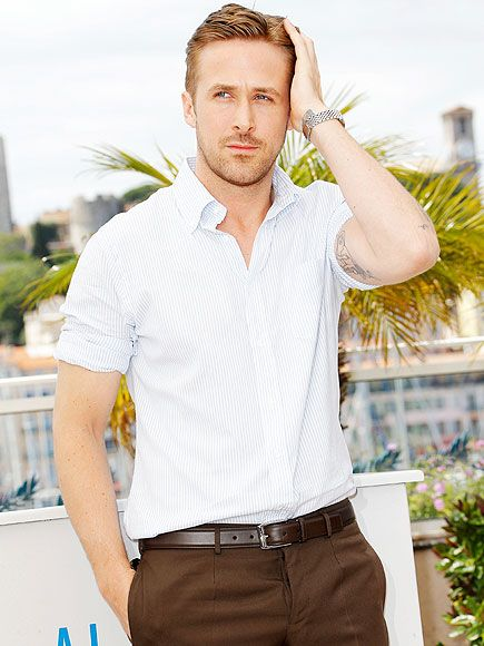 The Notebook Turns 10: Why Ryan Gosling Still Makes Us Swoon | HAIR HE IS! | How to comb your hair like Gosling: just one hand, all fingers, glancing in the opposite direction and making one smooth sweeping motion. While everyone else was busy wondering whether the actor had split from girlfriend Eva Mendes, we were busy analyzing the James Dean-esque way he combed his hair at this year's Cannes Film Festival.