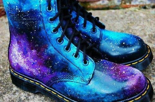 GALAXY SHOES!♥