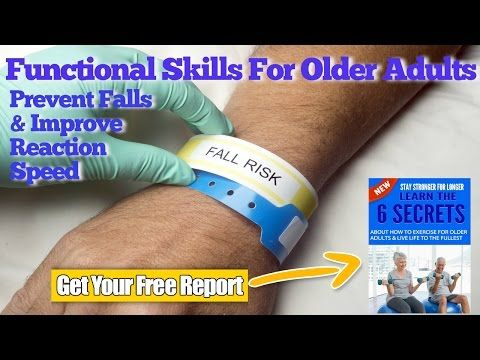 Functional Exercise For Older Adults To Prevent Falls & Improve Reaction Skills - YouTube
