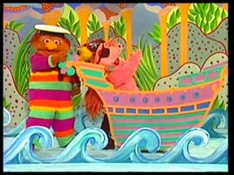 capitán pirata (canción). Espinete y Don Pimpón