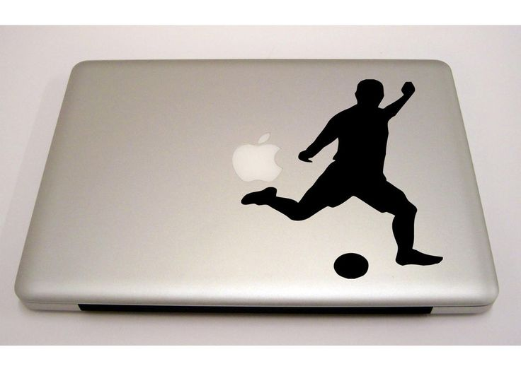 Macbook ipad laptop vinyl sticker decal custom size football sport t281 3m muralartdecals