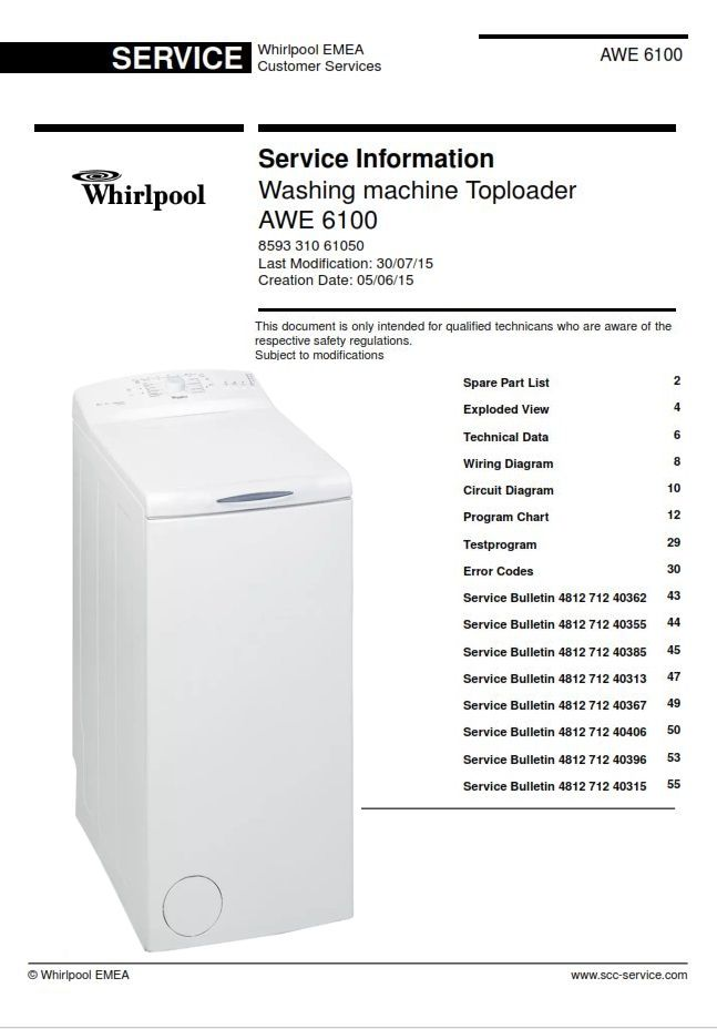 Whirlpool Awe 6100 Washing Machine Service Manual Washing Machine Service Whirlpool Washing Machine Washing Machine
