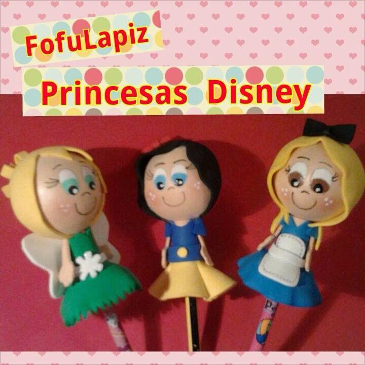 Fofulapices  Campanilla,Blanca Nieves, Alicia.