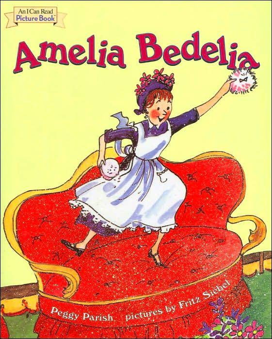 Love ALL the Amelia Bedelia books.