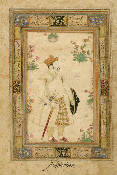 Mirza Daniyal (inscription however says Abdullah Khan Uzbek, a Mughal General)