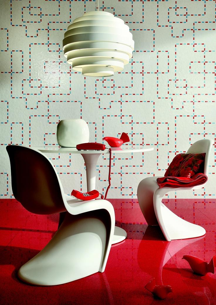 Kinetic Mosaic Tiles
