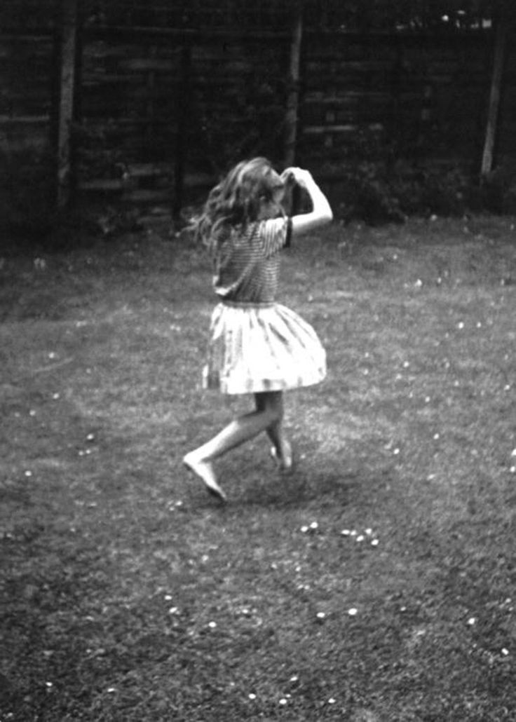 Kate Bush. Photo taken by her brother John Carder Bush when she was Cathy.